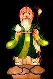 Chiński bóg Shou lampion Zdjęcie Stock
