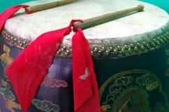 Chiński bęben obraz royalty free