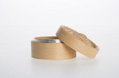 Chiński bambus Dekatyzujący lub bambus Dekatyzowaliśmy dla dimsum na backgroun Fotografia Royalty Free