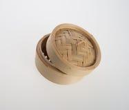 Chiński bambus Dekatyzujący lub bambus Dekatyzowaliśmy dla dimsum na backgroun Zdjęcie Royalty Free