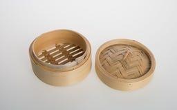 Chiński bambus Dekatyzujący lub bambus Dekatyzowaliśmy dla dimsum na backgroun Zdjęcia Royalty Free