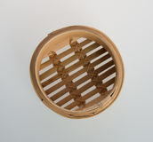 Chiński bambus Dekatyzujący lub bambus Dekatyzowaliśmy dla dimsum na backgroun Zdjęcia Stock