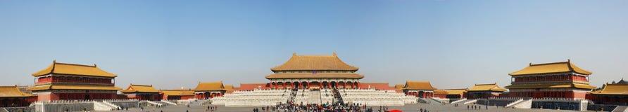 chiński cesarski pałac Obraz Royalty Free