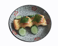 Chiński ciasto Fotografia Stock
