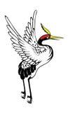 Chiński czapli obraz Zdjęcie Royalty Free