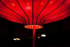 Chiński czerwony lampion obraz royalty free