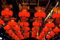 Chiński czerwony lampion obrazy royalty free