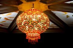 Chiński Dekoracyjny lampion Zdjęcia Royalty Free
