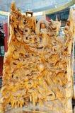 Chiński drewniany cyzelowanie Obraz Royalty Free