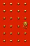 chiński drzwi Obrazy Royalty Free