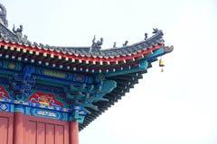 Chiński eave zdjęcie stock