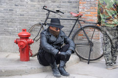 Chiński filmu aktor Zdjęcie Stock