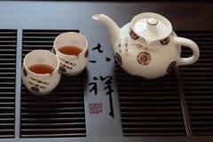 Chiński herbata set zdjęcie stock