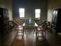 Chiński historyczny pokój konferencyjny Biznes obrazy stock