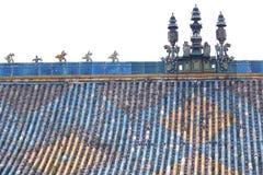 Chiński housetop zdjęcia royalty free