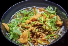 Chiński jedzenie: Hainan Ryżowy kluski Obraz Royalty Free