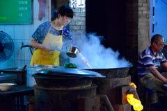 Chiński jedzenie kram Xian obrazy royalty free