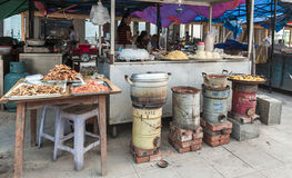 Chiński jedzenie rynek zdjęcia stock