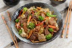 Chiński jedzenie - Yakissoba zdjęcie stock