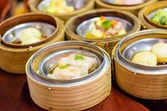 Chiński karmowy menu w ranku posiłku Zdjęcie Royalty Free
