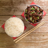 Chiński karmowy soja kumberland gotował wołowinę z gwiazdowym anyżem Zdjęcie Royalty Free