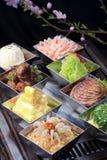 Chiński karmowy zimny naczynie Zdjęcie Stock