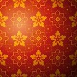 Chiński kwiatu wzoru tło. Wektor Fotografia Stock