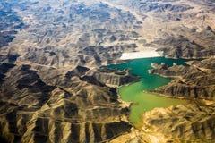 Chiński lessowy plateau zdjęcie stock