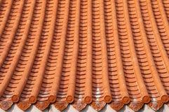 Chiński lub Japoński dach Zdjęcie Royalty Free