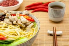 chiński makaron zdjęcie stock