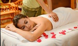 Chiński masaż Zdjęcie Stock