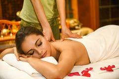 Chiński masaż Zdjęcia Royalty Free