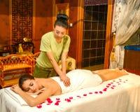 Chiński masaż Obrazy Stock