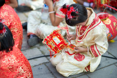 Chiński nowego roku świętowanie fotografia royalty free