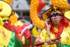Chiński nowego roku świętowanie w Tajlandia zdjęcia royalty free