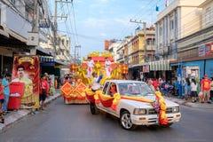 Chiński nowego roku świętowanie w Tajlandia Obraz Royalty Free