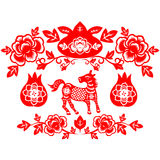 Chiński nowego roku koń Obrazy Stock