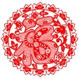 Chiński nowego roku wąż Obrazy Royalty Free