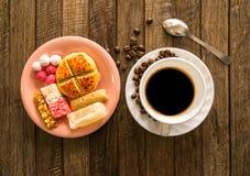 Chiński nowy rok, kawa i cukierek, obrazy royalty free