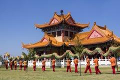chiński nowy rok parady afryce kanonkop słynnych góry do południowego malowniczego winnicę wiosna Fotografia Stock