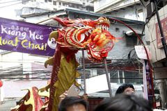 Chiński nowy rok w Manila Chinatown zdjęcia royalty free