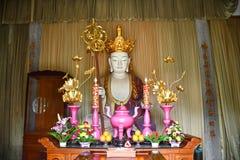 Chiński ołtarz Ksitigarbha Bodhisattva Obraz Royalty Free