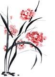 Chiński obraz ilustracja wektor