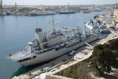 Chiński okręt wojenny Qinghaihu Obrazy Stock