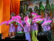 Chiński opera występ w Tajlandia Obraz Royalty Free
