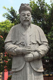 Chiński opiekunu bóg przy Che Kung świątynią fotografia stock