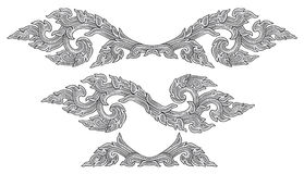 chiński ornament Obraz Stock
