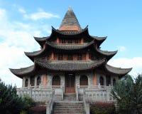 Chiński pałac Obrazy Stock