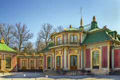 Chiński pawilon przy Drottningholm, Sztokholm obraz stock