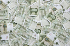 Chiński pieniądze zdjęcie royalty free